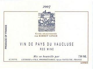 '07  Vaucluse Rouge